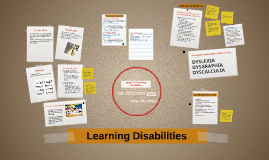 Copy of Learning Disabilities
