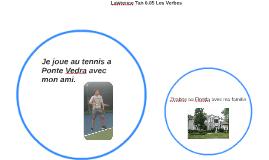 Copy of Je joue au tennis a Ponte Vedra avec mon ami.