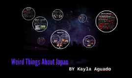 Weird Things About Japan