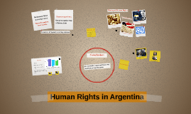 Human Rights in Argentina
