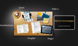 Web 2.0 Technologies Prezi Student Sample