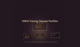 OSHA Training: Daycare Facilities