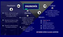 Ergonomía - Mapa Conceptual