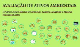 AVALIAÇÃO DE ATIVOS AMBIENTAIS
