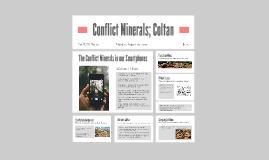 Conflict Minerals; Coltan