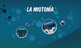 La Miotonía