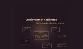 Legal system of Kazakhstan