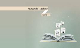 Persepolis Analysis