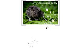 Árvore Filogenética do Kiwi