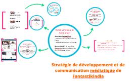 Stratégie de développement et de communication médiatique de
