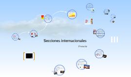 Secciones internacionales