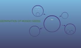 GERMINATION OF MONGO SEEDS