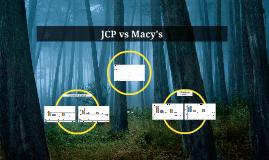 JCP vs Macy's