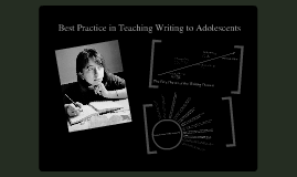 Copy of Best Practices in Teaching Writing to Adolescents