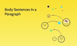 Body Sentences