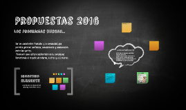 Propuestas 2016