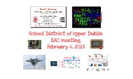 UDSD EAC presentation 2012-2013