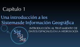 Introduccion a los  SIG