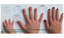 TEMA 6: La Terapia Ocupacional en el tratamiento de los sínd