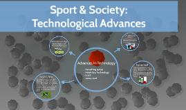Sport & Society: Technology