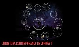 Copy of LITERATURA CONTEMPORÁNEA EN EUROPA II