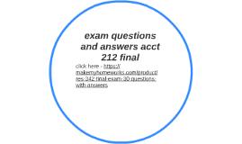 case study for final exam essay