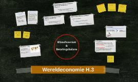 Wereldeconomie H.3