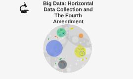 Big Data: Horizontal Data Collection and The Fourth Amendmen