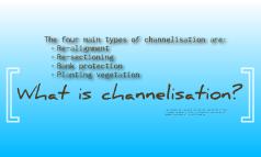 River Channel Management Strategies