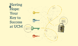 Having Hope: Your Key to Success at UCM