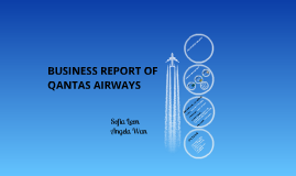 Business Report of Qantas