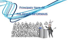 Copy of Principais tipos de falácias informais