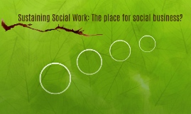 Sustaining Social Work: Is there a place for business?