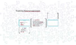 Training Resourcegroepen