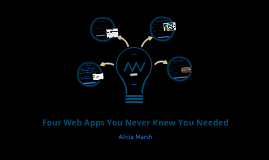 Four Web Apps You Never Knew You Needed