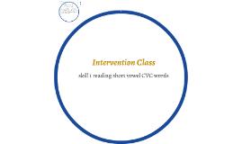 Intervention Class