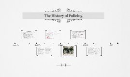 Copy of The History of Policing