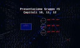 Presentazione Gruppo #5