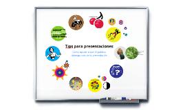 Copy of Consejos para presentaciones