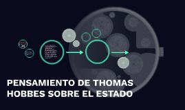 Copy of PENSAMIENTO DE THOMAS HOBBES SOBRE EL ESTADO