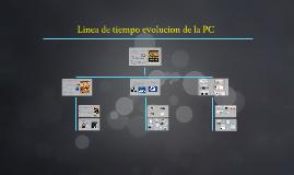 Linea de tiempo evolucion de la PC