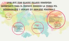 Copy of ¿Por que Jean Claude Filloux considera importante para el do