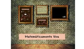 Matemáticamente Viva