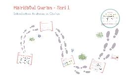 Ma'rifatul Quran seri 1