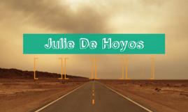 Julie De Hoyos