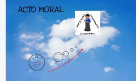 ACTO MORAL