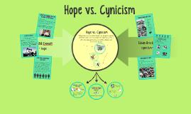 Hope vs. Cynicism