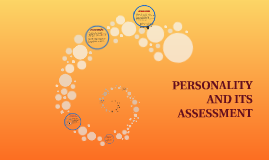 Copy of PERSONALITY AND ITS ASSESSMENT