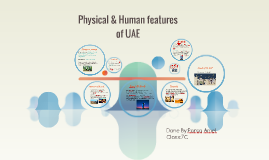 Phisical & Human features of UAE
