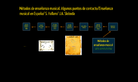 Copy of Métodos de enseñanza musical